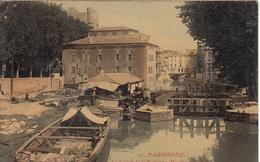 NARBONNE - Le Canal De La Robinne - Moulin De La Vitto  - Jolie Carte - Narbonne