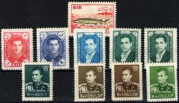 Irán Nº 802, 903/6, 928A, 948, 949/50. Año 1954/60 - Irán