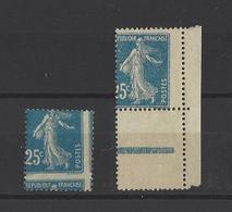 FRANCE  YT  N° 140 (piquage à Cheval)  Neuf *  1906 - Varietà E Curiosità