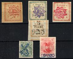 Irán Nº 148/50, 157, 213, 217. Año 1902/4 - Irán