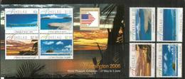 Paysages De Tokelau Islands,Tropical Coral Atolls, 4 Timbres + Bloc-feuillet Neufs ** 2006 (hautes Faciales) Côte 25 Eur - Tokelau