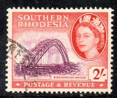 APR2123 - RHODESIA SUD SOUTHERN 1953 ,   Yvert N. 88  Usato  (2380A) - Rhodesia Del Sud (...-1964)