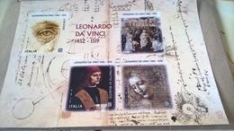 ITALIA 2019 LEONARDO DA VINCI - BF INTEGRO - 6. 1946-.. Republik