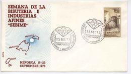 Espana 1973 Jewelry Diamond / Schmuck Diamant / Menorca / Occas. Cancel   H450 - Geology