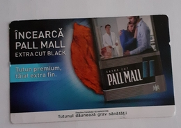 ROMANIA-CIGARETTES  CARD,NOT GOOD SHAPE,0.74 X 0.48 CM - Unclassified