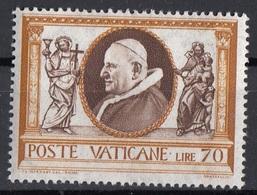 Vaticano 1960 Uf. 291 Opere Di Misericordia Fede Carità Papa Pope Giovanni XXIII MNH - Papi