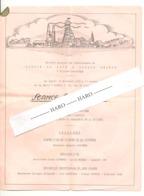 Charbonnages GLOSSON - LA HAYE & HORLOZ REUNIS - Programme En L'honneur Des Décorés  TILLEUR 1950 (b254) - Programmes