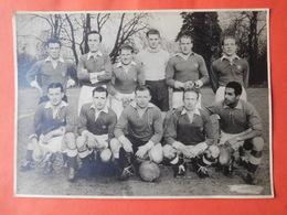 Photo Presse Equipe Football Vers 1950 / White Star Woluwe St Lambert ? - Deportes