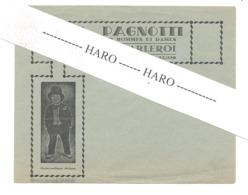 Enveloppe à Entête - Alex. PAGNOTTI, Marchand Tailleur à CHARLEROI  (b254) - Textile & Vestimentaire