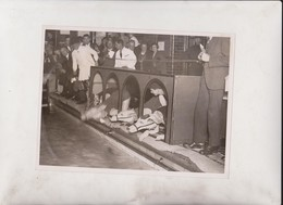 SWIMMING RACE WANDSWORTH BATHS COLOMBIA SWIMMING CLUB GREYHOUND RACING TRACK 21*16CM Fonds Victor FORBIN 1864-1947 - Sports