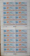 TAAF Poste Aérienne YT N° 114, Quatre Feuilles Entières De 10 Timbres Neufs ** MNH. TB. A Saisir! - Luftpost