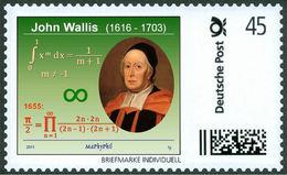 WALLIS, J. - Integration - Wallis Product - π (Pi)  -  Mathematics - Mathematician - Marke Individuell - Wissenschaften