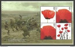 GB 2017 THE GREAT WAR POPPIES BOOKLET PANE MNH - 1952-.... (Elisabetta II)