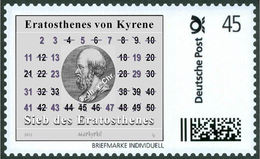 ERATOSTENES - Sieve Of Eratosthenes, Primes - Mathematician, Mathematics -  Marke Individue - Wissenschaften