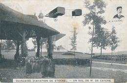 CPA - Belgique - Brussels - Bruxelles - Quinzaine D'aviation De Stockel - Un Vol De M. De Caters - Woluwe-St-Pierre - St-Pieters-Woluwe