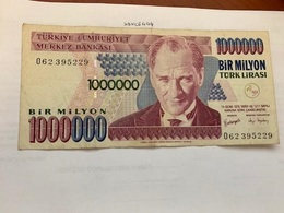 Turkey 1 Million Lira Banknote 1970 - Turkey
