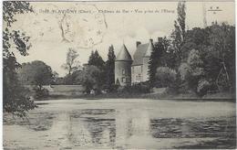 18  Flavigny  Chateau De Bar  Vue Prise De L'etang - Autres Communes