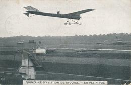 CPA - Belgique - Brussels - Bruxelles - Quinzaine D'aviation De Stockel - En Plein Vol - Woluwe-St-Pierre - St-Pieters-Woluwe