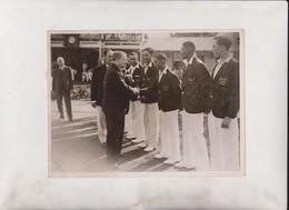MCC FIRST MATCH JAMACIA JAMAICA CC DACOSTA ANTILLAS Caribbean Island  20*15CM Fonds Victor FORBIN 1864-1947 - Sports