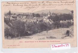23-SAINT-VAURY Et La Montagne Des TROIS-CORNES-- Edit. A. De NUSSAC-Dos Précurseur-Ecrite- Nov. 1904- Vue Panoramique- - Frankrijk