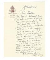 JOSEPH REINACH 1856 - 1921  Autographe - Handtekening