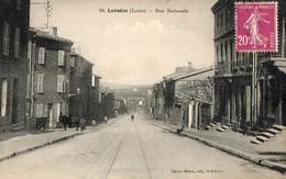 LORETTE ( 42 ) -  Rue Nationale - France