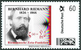 RIEMANN, B. - Riemann Zeta-function - Mathematics, Mathematician - Marke Individuell - Wissenschaften