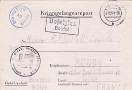 ALLEMAGNE. BONN. CORRESPONDANCE MILITAIRE. KRIEGSGEFANGENENPOST. STALAG VI G. TEXTE DU 6 DECEMBRE 1940 - 1939-45