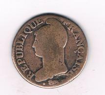 5 CENTIMES L'AN 7 A FRANKRIJK /6029/ - 1789-1795 Monnaies Constitutionnelles