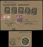 3. Reich - DR WHW MiF Auf R - Briefumschlag Mit Siegelmarke: Gebraucht Köln - Dresden 1940 ,Bedarfserhaltung. - Briefe U. Dokumente