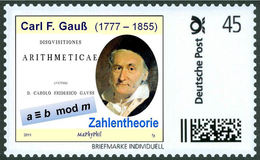 GAUSS, C.F. - Number Theory - Disquisitiones Arithmeticae - Congruence Arithmetic, Mathematics - Marke Individuell - Wissenschaften