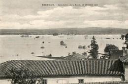 NERVIEUX ( 42 ) -  Inondations De La Loire, 1907 - Other Municipalities