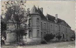 18  Germigny - L'exempt Chateau  De La Guerche Sur L'aubois  Chateau De Chateaurenaud  Facade Du Parc - Autres Communes