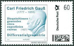 GAUSS, C.F. - Differential Geometry - Mathematics, Mathematician - Marke Individuell - Wissenschaften