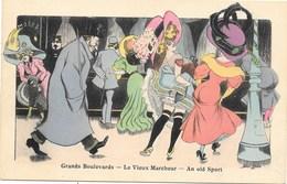 Xavier Sager NA6: Grands Boulevards. Le Vieux Marcheur. An Old Sport - Sager, Xavier