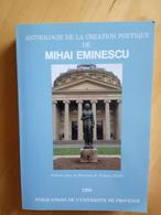 Anthologie De La Création Poétique De Mihai Eminescu - Poetry