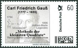 "GAUSS, C.F. - ""Least Squares Method"" - Mathematics, Mathematician - Marke Individuell - Wissenschaften"