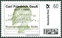 GAUSS, C.F. - Hypergeometric Series - Mathematics, Mathematician - Marke Individuell - Wissenschaften