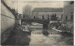 18  Saint Martin - D'auxigny Les Bords Du Moulin  La Lavoir - Frankreich