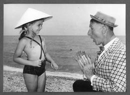 Photo Press NICE NIZZA 1964 - ZAVATTA ACHILLE CLOWN PAGLIACCIO - CIRQUE CIRCUS CIRCO - Persone Identificate