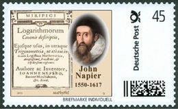 NAPIER, J. - Logarithms - Mathematician, Mathematics - Marke Individuell - Wissenschaften