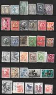Yougoslavie - Jugoslavija - Petite Collection Depuis 1919 - 34 Timbres Oblitérés - Oblitérés
