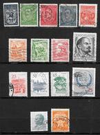 Yougoslavie - Jugoslavija - Petite Collection Depuis 1920 - 15 Timbres Oblitérés - Oblitérés