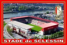 CARTE DE STADE .    LIEGE  BELGIQUE  STADE  DE SCLESSIN .# CS. 093 - Football