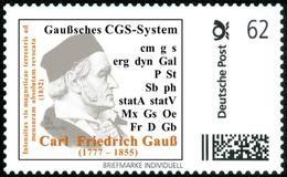 GAUSS, C.F. - CGS System - Mathematics, Physics, Physique, Physicien, Physicist - Marke Individuell - Wissenschaften