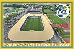 CARTE DE STADE .   LUZERN  SUISSE  SUISSPORARENA .# CS. 095 - Fussball
