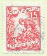 Yougoslavie - Jugoslavija - 1952 - N° 592 Oblitéré - Oblitérés