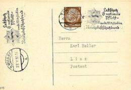 Wien, Flamme Sur Carte Postal 1939 - Ocupación 1938 – 45