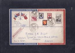 Enveloppe Locale Journee Du Timbre 1946 Laval - France