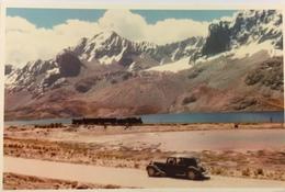 (677) Peru - Near Ticilio - 4758 M - Citroën - Trein - Pérou